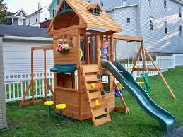 Big Backyard Swing Set Backyard Discovery Playhouse Funny Backyard Clubhouse U2013 The