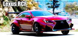 lexus rcf ride quality gta 5 lexus rcf cinematic ultra realistic graphics mod gameplay