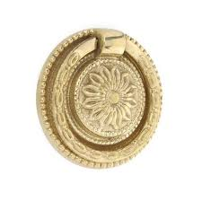 cabinet ring pulls with backplate brass ring pull with round floral backplate ring desk rev and