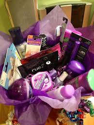 Themed Gift Basket Ideas Colorful Gift Basket Ideas A And A Glue Gun