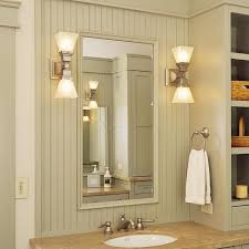 Light Sconces For Bathroom Oak Park Two Light Linear Sconces Light Bathroom Vanity Brass