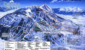 Colorado Ski Areas Map by Crested Butte The Anti Colorado Resort First Tracks Online