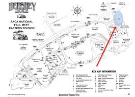 Map Of Hershey Pennsylvania by Scooterbug Mobility Rentals