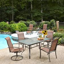 Patio 7 Piece Dining Set - 7 piece patio dining sets clearance beauteous kmart furniture renate