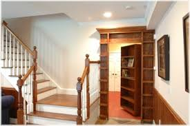 secret bookcase door open stashvault