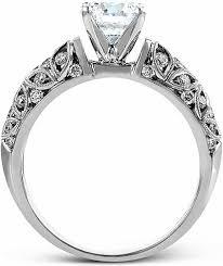 filigree engagement ring simon g filigree engagement ring sg lp1582