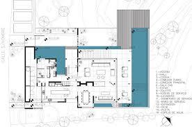 modern house floor plan stunning modern aqua house in argentina floor plan view