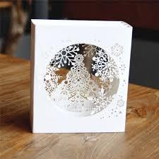 aliexpress com buy 3d pop up paper laser cut cards merry