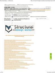 structural design online civil