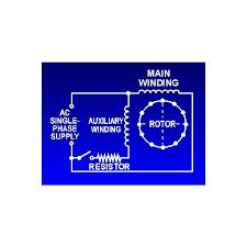 capacitor start motors diagram u0026 explanation of how a capacitor