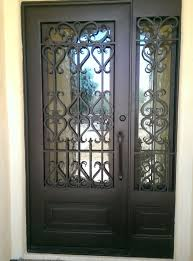 front doors with side lights wrought iron entry doors with side lights scottsdale az