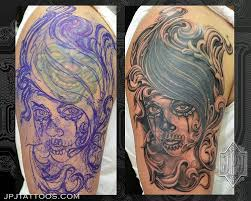 7 skull cover up tattoos skullspiration com skull designs