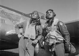 tuskegee airman goes on to become first air force african american