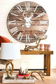 Deer Themed Home Decor Beach Themed Wall Clocks Wine Themed Wall Clocks Beach Themed