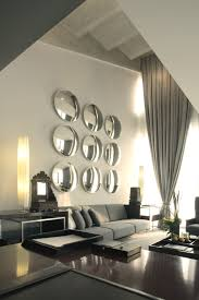 Wall Mirrors For Living Room by Large Wall And Don U0027t Know What To Do Or Don U0027t Want To Hang Art