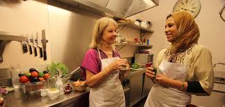 cours de cuisine a 2 riad jona cooking classes