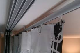 Curtain Hooks Pinch Pleat Tutorial Ikea Kvartal Curtain System