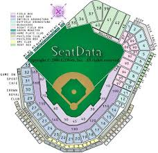fenway park seating map fenway seating chart