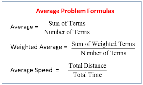 weighted average problems solutions videos examples