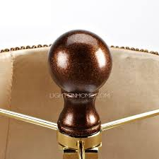 End Table Lamps End Table Lamps With Brown Shade Glamorous Style