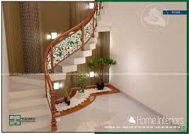 kerala home design staircase contemporary home bedroom stair interior design