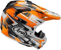 mens motocross helmets arai new 2017 mx vx pro4 tip orange white ktm motocross dirt bike