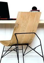 chaise de bureau en bois zevents co