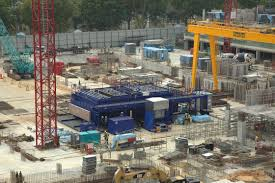 singapore relies on transportable precast concrete plants