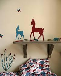 stickers chambres stickers chambres d enfants les biches emilie vast pour pois