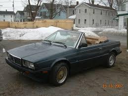 1985 maserati biturbo custom cheap italian 1986 maserati biturbo