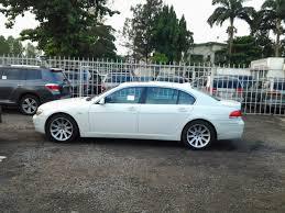 bmw 2006 white a sparkly white 2006 bmw 750li for sale autos nigeria