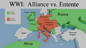 Country Ottomans by Alliances Ww1 Wwi Pinterest Ottoman Empire Wwi And History