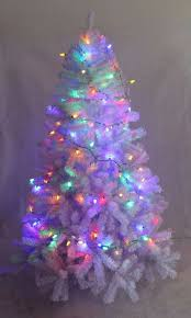 white christmas tree with colored lights 240 cm white christmas holiday decoration pvc tree with 1238 tips