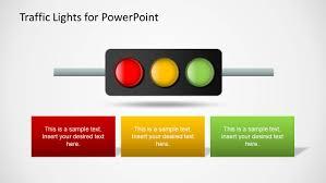 stoplight report template traffic lights powerpoint template slidemodel