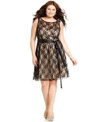 trixxi plus size dress sleeveless lace a line plus size dresses