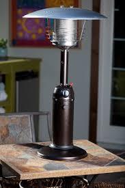 Fire Sense Mocha Patio Heater by Bistro Table Gas Patio Heater Outdoor Warming Patio Heater