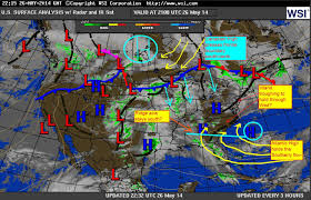 Frontal Boundary Map Piedmont Trough Increases The Sea Breeze Along The Sc Nc Coast 5