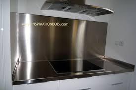 plan de travail cuisine inox sur mesure agencement de cuisines haut de gamme sur mesure en teck et wengé