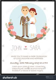 Groom And Groom Wedding Card Wedding Invitation Cards Bride Groom Their Stock Vector 533137204