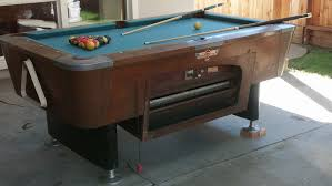 used valley pool table mitchell s model 775cr feb 1964 mitchell used to accompa flickr