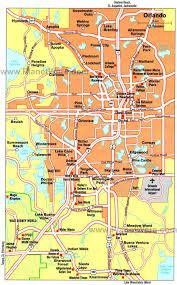 Disney Springs Map Downtown Orlando Map Karte Von Orlando Florida Usa