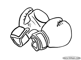 boxing gloves new picture boxing gloves coloring pages at best all