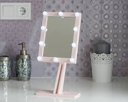 Bathroom Mirrors With Lights by White Makeup Mirror With Lights Hollywood Lighted Vanity