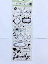 wedding scrapbook stickers 55 best wedding scrapbook stickers images on scrapbook