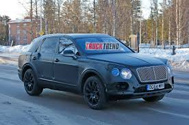 bentley sport 2016 2016 bentley bentayga spied winter testing