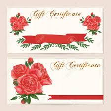 100 romantic gift certificate template 11 best creyate gift