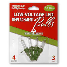 national tree company replacement soft white led bulbs rb 4lvsw