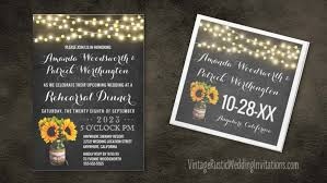 rehearsal dinner invitations jar rehearsal dinner invitations vintage rustic wedding