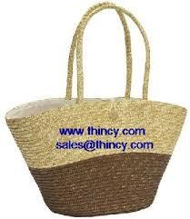 Beach Basket Straw Bags Summer Beach Basket Wicker Willow Rattan Hats Sandals