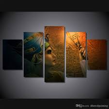 Painting Livingroom 2017 Wholesale Queens Of Egypt Canvas Painting Living Room